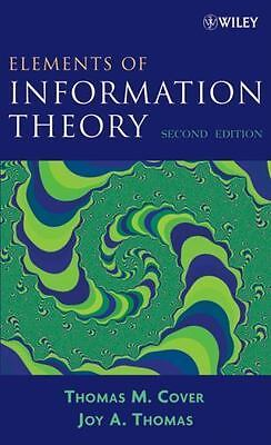 Elements Of Information Theory, 2Ed