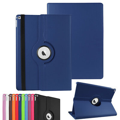 360° Rotating Folio Stand Smart PU Leather Case Cover For Apple iPad Shockproof