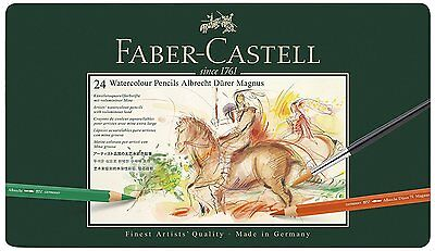 Faber-Castell - Albrecht Durer Magnus Water Colour Pencils - Tin of 24