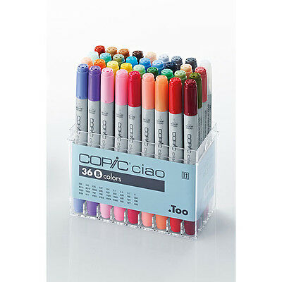 Copic - Ciao Marker Pens - Colour Set B - Pack Of 36