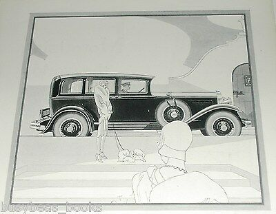 1929 STUDEBAKER Presidantial Eight advertisement, Presidential 8 State Sedan