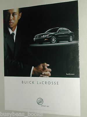 2005 Buick advertisement, BUICK LaCrosse, with golfer Tiger Woods