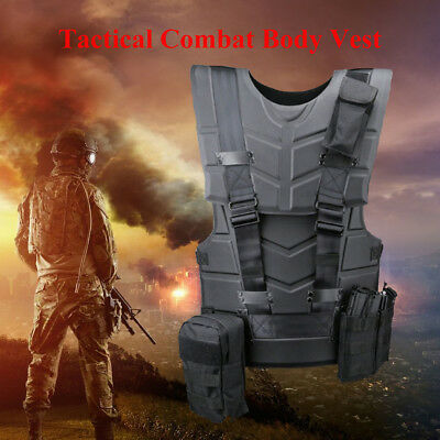Tactical Vest Body Armor Outdoor Paintball Combat Hunting Protection Equipment