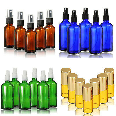 15ml~100ml Glass Bottles Fine Mist Spray For Aromatherapy Perfume Essential Oil