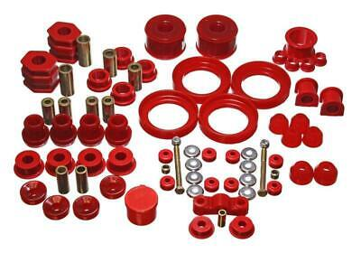 Energy Suspension Hyper-Flex Bushing System Red - Civic - 1996-2000 - 16.18110R