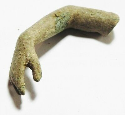 Zurqieh - As4418- Holy Land. Roman Bronze Arm From A Statue. 200 - 300 A.d