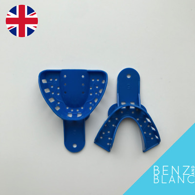 Dental Impression Trays Upper & Lower Size Small Teeth Clip Snap Veneers Braces