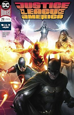 Dc Universe Justice League Of America #29 Variant First Print