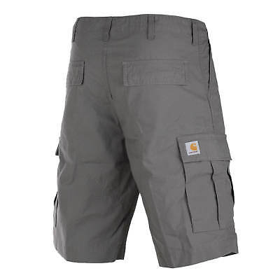 Carhartt WIP Regular Cargo Short grau Columbia Ripstop Bermuda air force grey