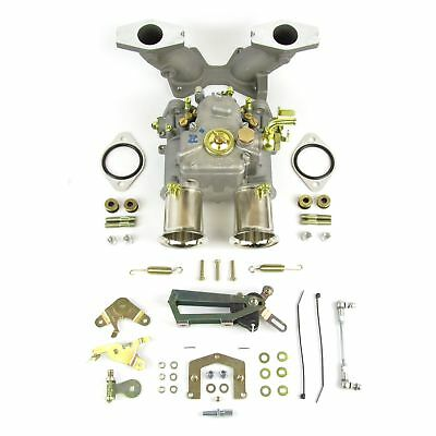 GENUINE Weber 45DCOE carburettor kit for MGB 1800 including manifold and linkage