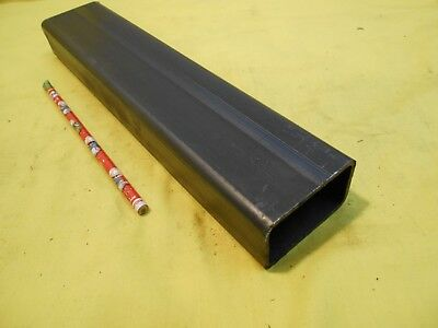"1 1/2"" x 2 1/2"" x 12"" RECTANGULAR STEEL TUBE structural tubing welding stock"