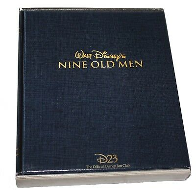 Disney D23 2017 Member Gift Walt Disney's Nine Old Men Box Set Reproductions