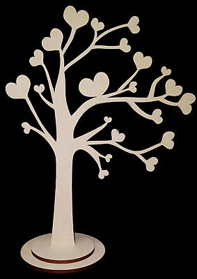 Tree in the wind MDF craft shape model display tree decoration