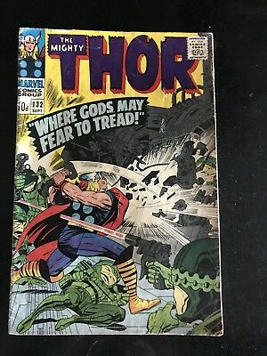 The Mighty Thor 132 - 6.5 (Fine+) Grading - First Ego Appearance
