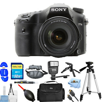 Sony Alpha a77 II DSLR Camera with 16-50mm f/2.8 Lens PRO BUNDLE BRAND NEW