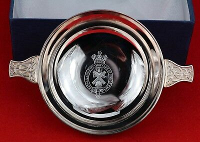 Mappin and Webb Silver Plated Royal and Ancient Golf Club Quaich