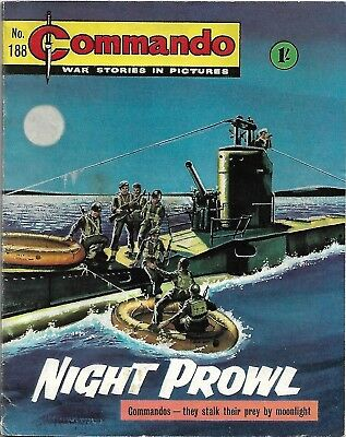 Commando War Stories In Pictures 188 Night Prowl