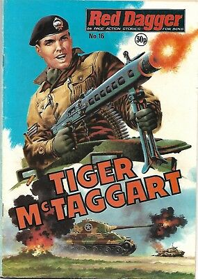 Red Dagger 16 Tiger McTaggart