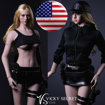 1/6 Scale Sexy Female Killer Tactical Suit Set For PHICEN Hot Toys Figure USA
