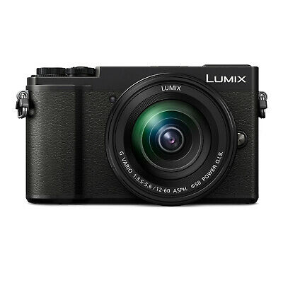 Panasonic LUMIX GX9 20.3 MP Mirrorless Camera with 12-60mm F3.5-5.6 Lens (Black)