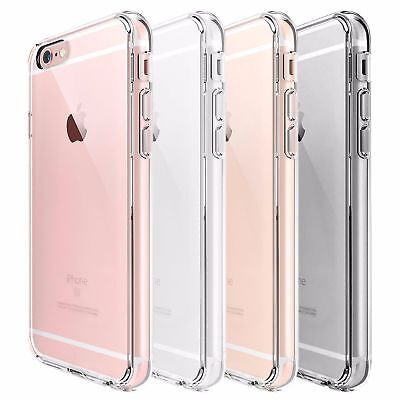 Apple iPhone 6/6s Shockproof Case Clear TPU Bumper Cover