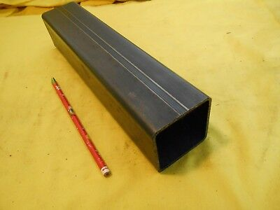 """2 1/2"""" x 2 1/2"""" x 12"""" SQUARE STEEL TUBE structural tubing welding stock"""
