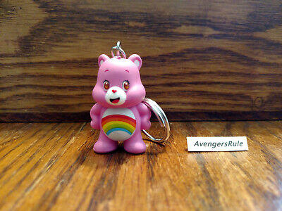 Care Bears Unbearably Cute Vinyl Keychain Series KidRobot Cheer Bear 1/24