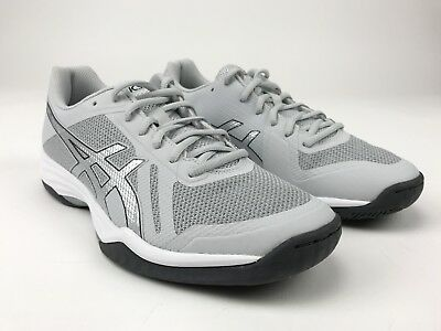 New ASICS Gel-Tactic 2 Volleyball Shoes Women s US Size 9.5 Grey White B752N 9e635afc73e17