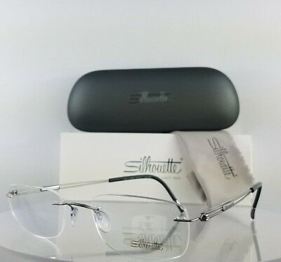 Brand New Authentic Silhouette 5226/10 6050 Eyeglasses Grey Frame 5226