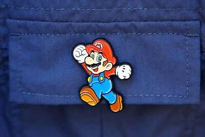 Nintendo Super Mario Collector Pins Series 1 - Mario  - Limited Wii U Switch 3DS