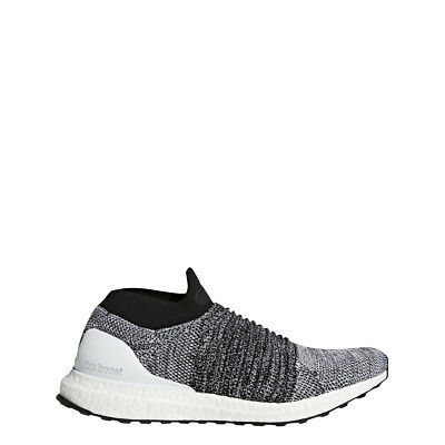 adidas MENS ULTRABOOST LACELESS WHITE/WHITE/BLACK - BB6141