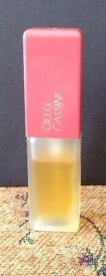 Vintage Oleg Cassini Spray Cologne For Women By Jovan 3/8 Oz Bottle 3/4 Full