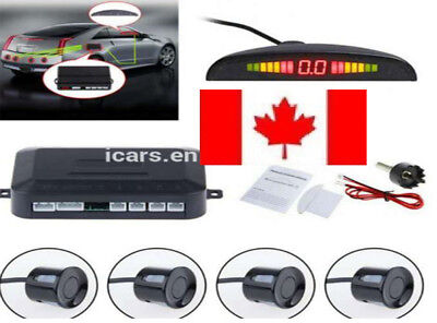 Vehicle Auto 4 Parking Sensors Car Parking Reverse Backup Radar