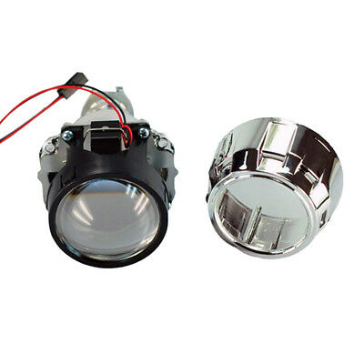 "2.5"" Mini Hid Bixenon Projector Lens Headlights For H1 Bulb Car With Shround HB"