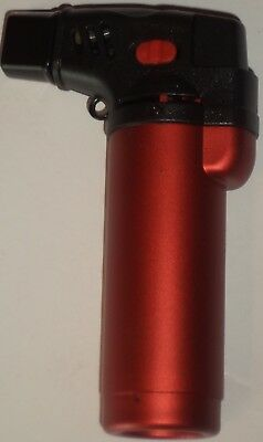 Soreaming Eagle Torch Refillable Windproof Jet Lighter Color Metallic Red Size4""