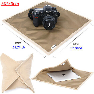 50*50cm Waterproof DSLR SLR Camera Soft Wrap Padded Lens Cover Protector Cloth