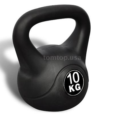 Kettle Bell Training Weight Gym Strength Exercise Kettlebell Dumbbell 10KG C1J6
