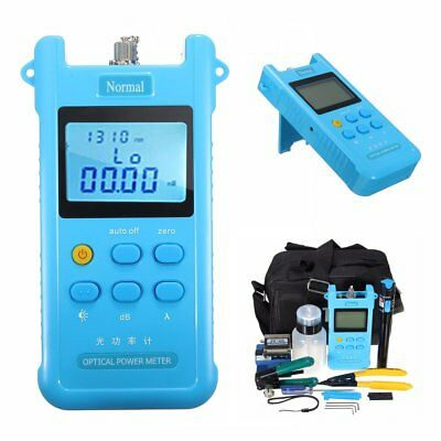 Fiber Optic FTTH Tool Set FC-6S Fiber Cleaver Power Meter Visual Finder Locator