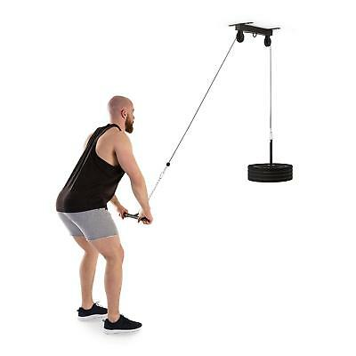 Lat Machine Pulley Soffitto Palestra Allenamento Workout Fitness Body Building