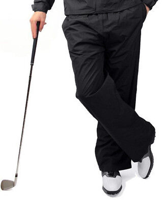 Ram Men's Waterproof Golf Trousers & Bottoms 100% Microfiber Golf Trouser