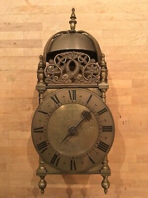 "Large Lantern Clock 16"" Tall"