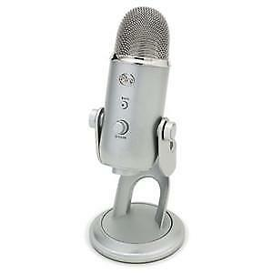 Blue Microphones Yeti USB Microphone - Silver Edition