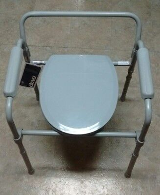 Steel Folding Bedside Commode Toilet Frames Mobility~ Local Pickup ~NO Shipping~