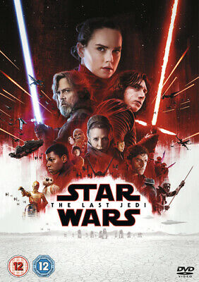 Star Wars: The Last Jedi DVD (2018) Carrie Fisher