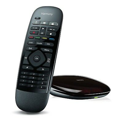 Logitech Harmony Smart Control, Combine up to 8 Remotes & Countless Apps - Black