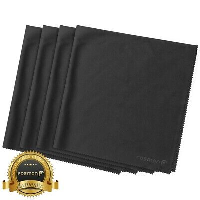 4x Large Screen Camera Lens Glasses LCD TV Microfiber Cleaning Cloth Towel 16x16