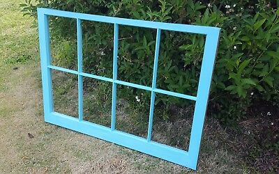 Vintage Sash Antique Wood Window Rustic Frame Pinterest Wedding 8 Pane Decor