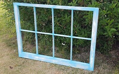 Vintage Sash Antique Wood Window Rustic Frame Pinterest 8 Pane Unique Paint