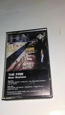 Mean Business * by The Firm (Rock) (Cassette, Oct-1990, Atlantic (Label))
