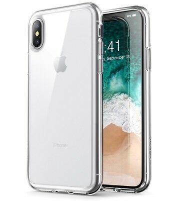 For Apple iPhone X / 8 PLUS Case Silicone Crystal Clear Gel iPhone 10 Soft Cover